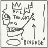 Uniqlo Sprz Ny Pin (jean-michel Basquiat)