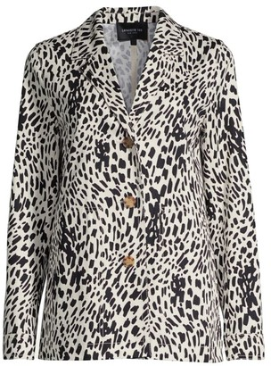 Lafayette 148 New York Coleman Printed Button Jacket