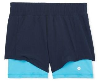 Avia 2-Fer All Sport Shorts, Sizes 4-18