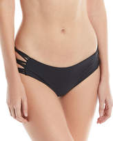 Mikoh Barcelona Strappy-Sides Swim Bikini Bottoms