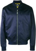 Stussy satin bomber jacket