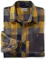 L.L. Bean Break Trail Tech Flannel Shirt, Plaid