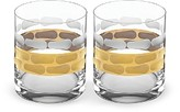 Michael Wainwright Truro Double Old Fashioned Glass, Set of 2
