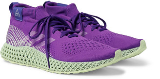adidas Consortium - Pharrell Williams 4D Runner Embroidered Primeknit Sneakers - Men - Purple