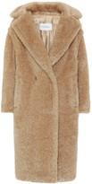 Max Mara Teddy Bear Icon lame coat