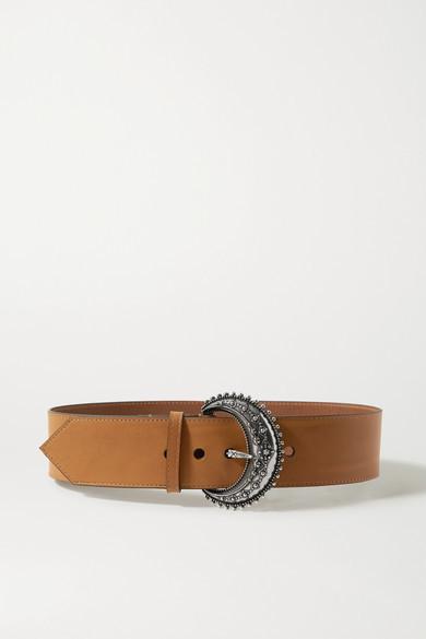 Etro Leather Belt - Tan