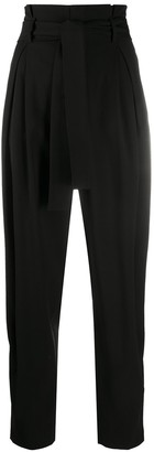 RED Valentino Pleat-Detail Tapered Trousers
