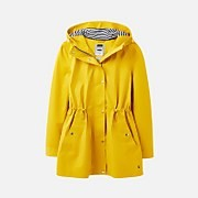 Joules Women's Shoreside Waterproof A-Line Coat