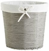 Pier 1 Imports Gray Paper Rope Waste Basket