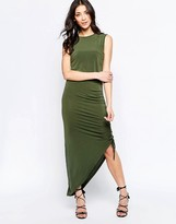 Wal G Dress With Rouched Side