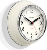 Newgate Clocks - The Cookhouse Wall Clock - Linen White