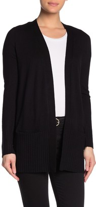 Cyrus Ribbed Sleeve Cozy Pocket Cardigan