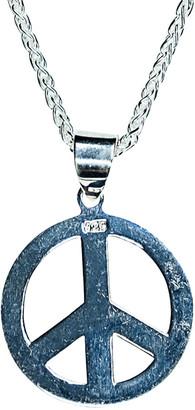 Jean Claude Dell Arte Silver Pendant Necklace