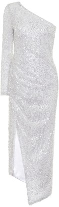Galvan Mamounia sequined bridal dress