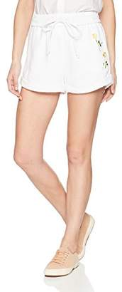 KENDALL + KYLIE Women's Rolled Drawstring Short