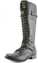 Rocket Dog Beany Women US 5.5 W Black Knee High Boot