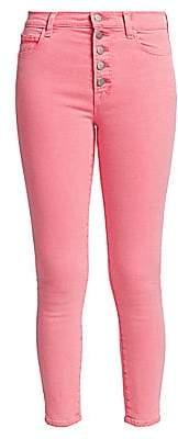 J Brand Women's Lillie High-Rise Crop Skinny Jeans