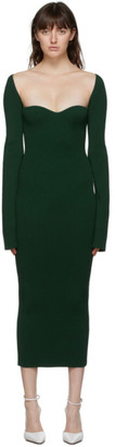 KHAITE Green Beth Dress