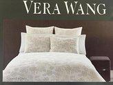 Vera Wang Etched Roses sage green king comforter set floral