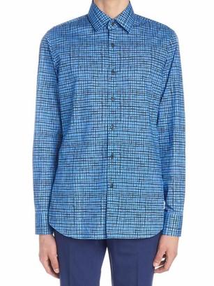 Prada Patterned Checkered T-Shirt