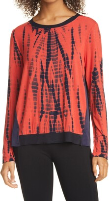 Donna Karan Tie Dye Top