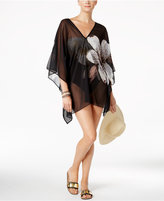 Carmen Marc Valvo Floral-Print Chiffon Cover-Up