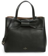 Kate Spade Olive Drive - Brigette Leather Satchel - Black