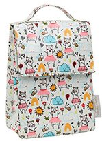 SugarBooger Classic Lunch Sack, Clementine The Bear