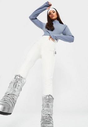 Missguided White Msgd Ski Leggings