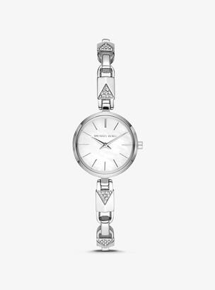 Michael Kors Jaryn Silver-Tone Mercer Link Watch