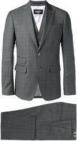 DSQUARED2 London three-piece suit - men - Virgin Wool/Cotton/Polyester - 48