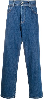 Acne Studios Loose-Fit Straight-Leg Jeans
