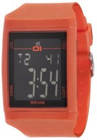01 The One 01TheOne Unisex DG921RD Digital Plastic DG Series Watch