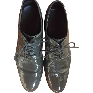 Marc Jacobs Anthracite Patent leather Lace ups