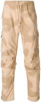 MHI printed track pants