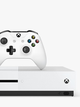 Microsoft Xbox One S Console, 1TB, with Wireless Controller, 1-Month Xbox Game Pass Trial and 14-Day Xbox Live Gold Trial Bundle
