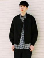 Black Collarless Jacket - ShopStyle