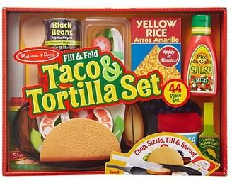 Melissa & Doug 44-Piece Fill & Fold Taco & Tortilla Set
