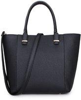 Newtion Women Durable Leather Top Handle Satchel Shoulder Bags Tote Bag Cross Body Handbag Middle Size Purse