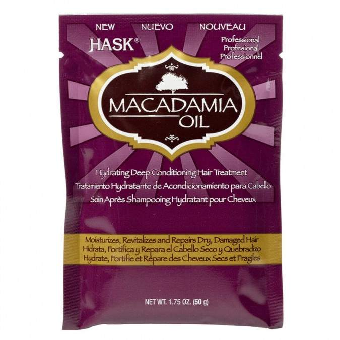 Hask Macadamia Oil Hydrating Deep Conditioning Hair Treatment 50 g