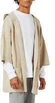 Topman Men's Cotton Kimono Hoodie