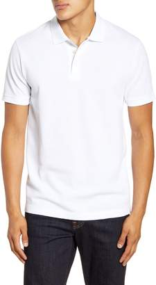 French Connection Slim Fit Popcorn Jersey Polo