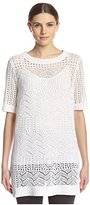 Shae Women's Open Knit Tunic