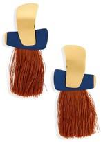 Lizzie Fortunato Women's Totem Tassel Earrings