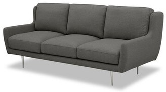 Julieta Mid-Century Sofa Brayden Studio Upholstery Color: Gray Wool