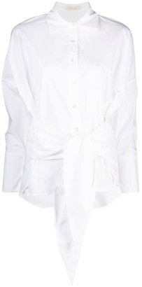Mes Demoiselles Tied-Waist Shirt