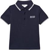 BOSS Navy Classic Polo