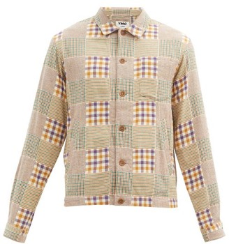 YMC Patchwork Cotton-flannel Shirt - Multi