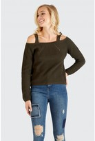 Select Fashion ring shoulder jumper - size 6