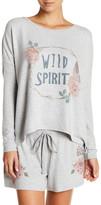 PJ Salvage Drop Shoulder Sleeve Fleece Pullover